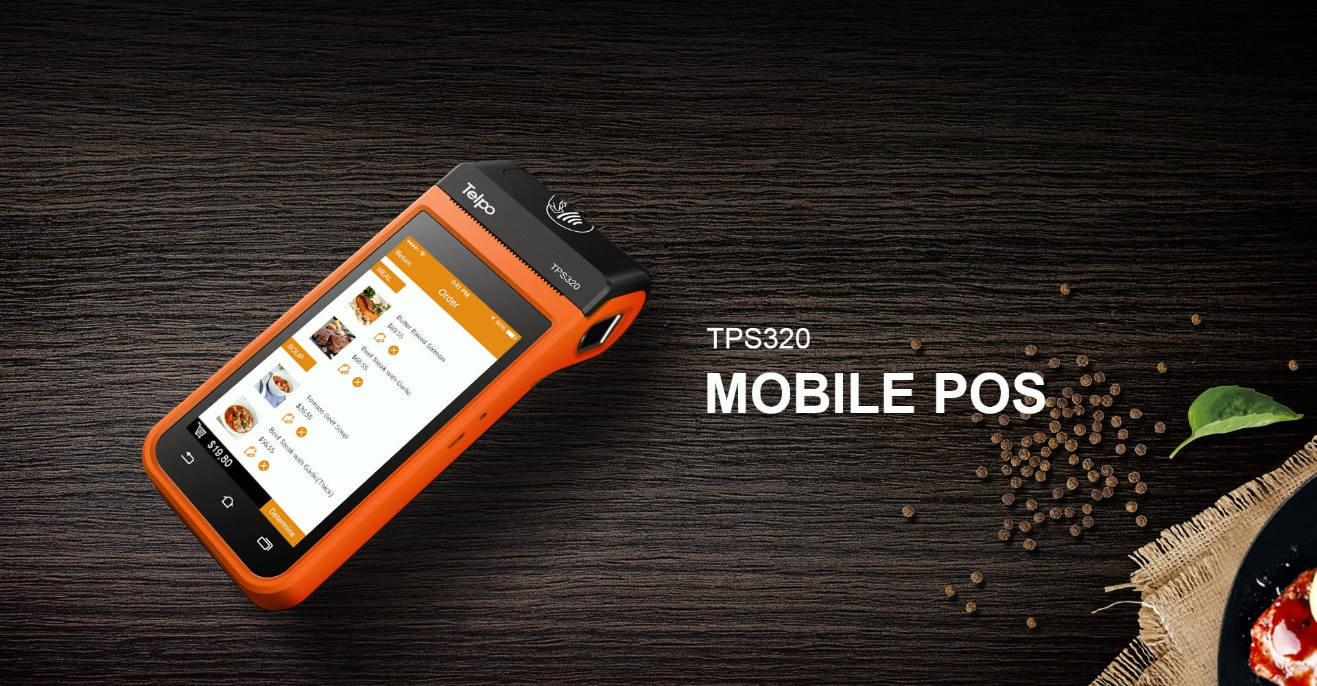 TPS320 Mobile POS QR-code Payment POS